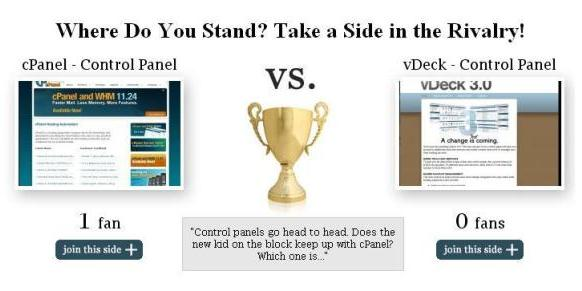 cPanel vs. vDeck - The Newcomer versus the Most Popular Control Panel