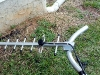 301111 Antenna mounted to 45 degree elbow conduit pipe